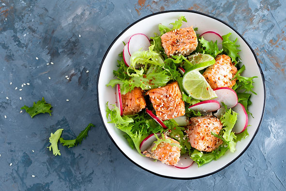 Baked Sesame Salmon Salad.jpeg