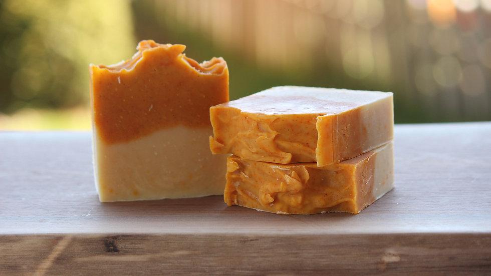 Garden Creamsicle Soap