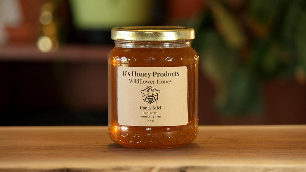 Raw Wildflower Honey 500g