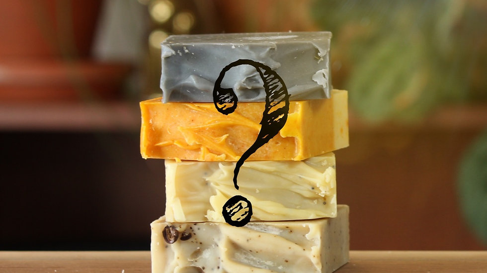 MYSTERY Soap 5-Pack