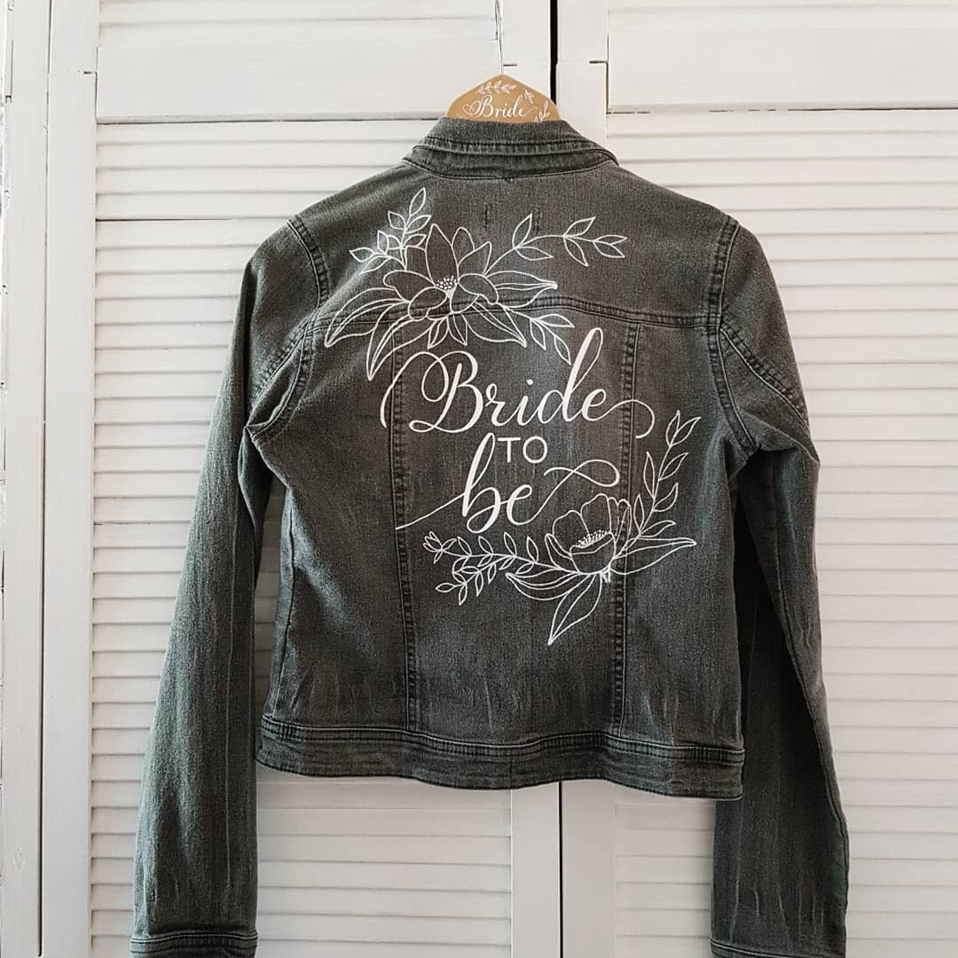 bride to be jacket