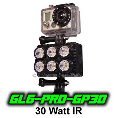 30 Watt IR GoPro Compatible GL6-PRO-GP30