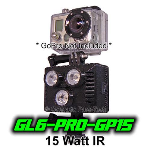 15 Watt IR GoPro Compatible GL6-PRO-GP15