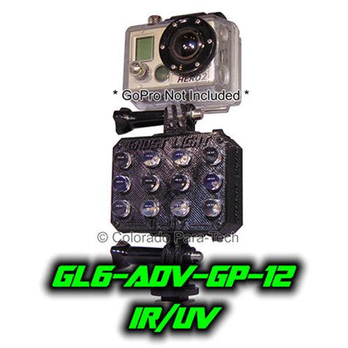 IR/UV GoPro Camera Light GL6-ADV12-GP IR/UV