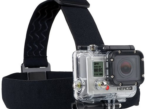 Head Mount for GoPro Cameras