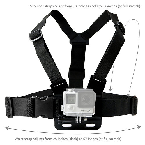 Chest Harness for the GoPro Camcorder
