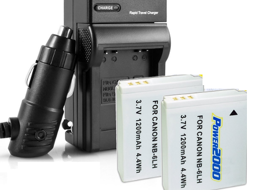 Canon SX530 Batteries + Charger