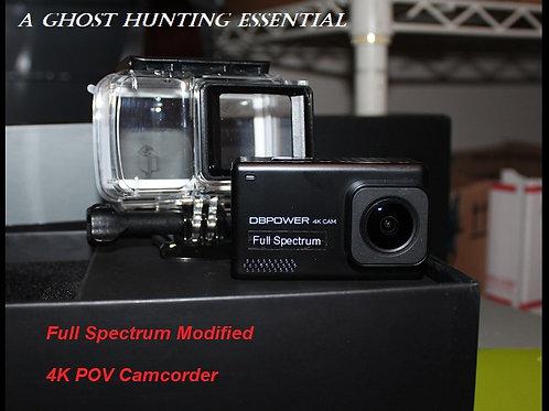 Full Spectrum 4K POV Camcorder