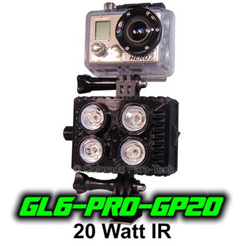 20 Watt IR GoPro Compatible GL6-PRO-GP20