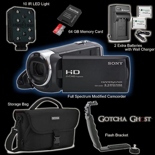 BUNDLE Full Spectrum Sony HandyCam Set