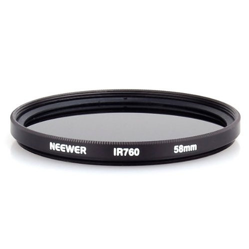 52 or 58mm 760nm IR Filter DSLR