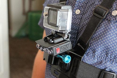 POV Cam with LIGHT & Harness SET