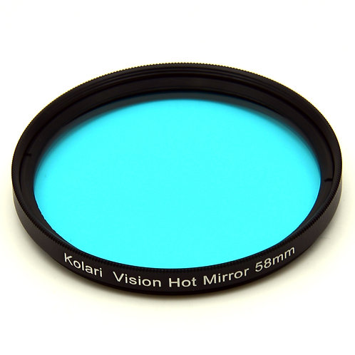 52 or 58mm Hot Mirror Filter