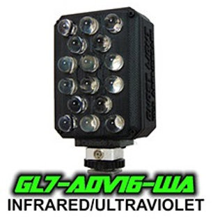 IR/UV Wide Angle Combo Light GL7-ADV16-WA IR/UV