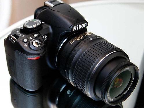 USED Full Spectrum NIKON D3100