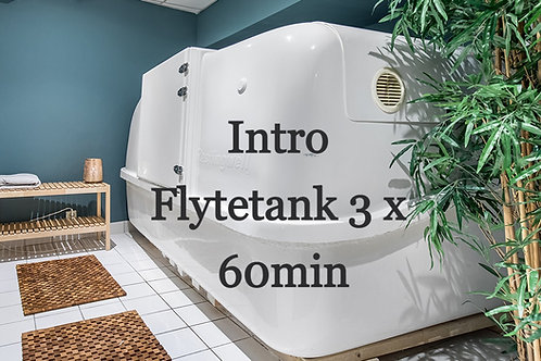 Gavekort: Introduksjon 60 min x 3 i flytetank