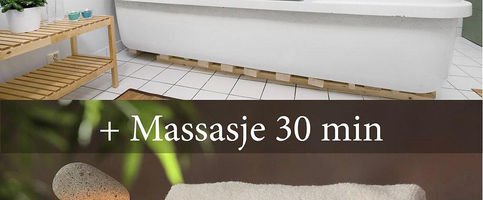 Gavekort: 60 min flytetank + 30 min massasje