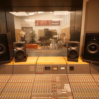 Recording at Goldsmiths