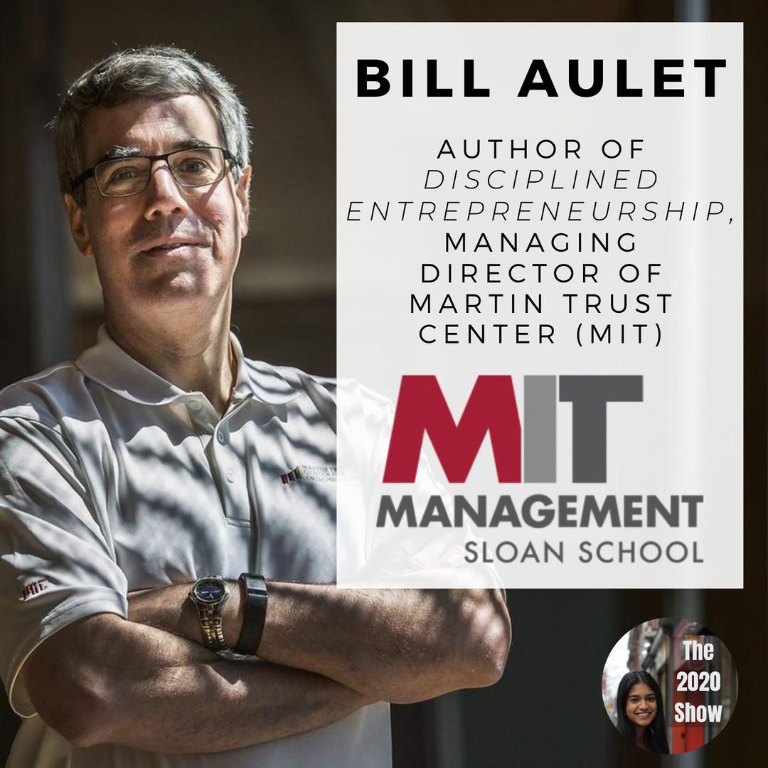 Bill Aulet, MIT