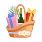 128165304-present-basket-full-of-gifts-a