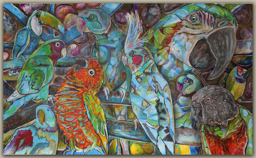Le jardin des perroquets