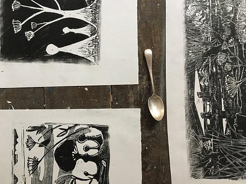 William Blake Printing Workshop 20th July