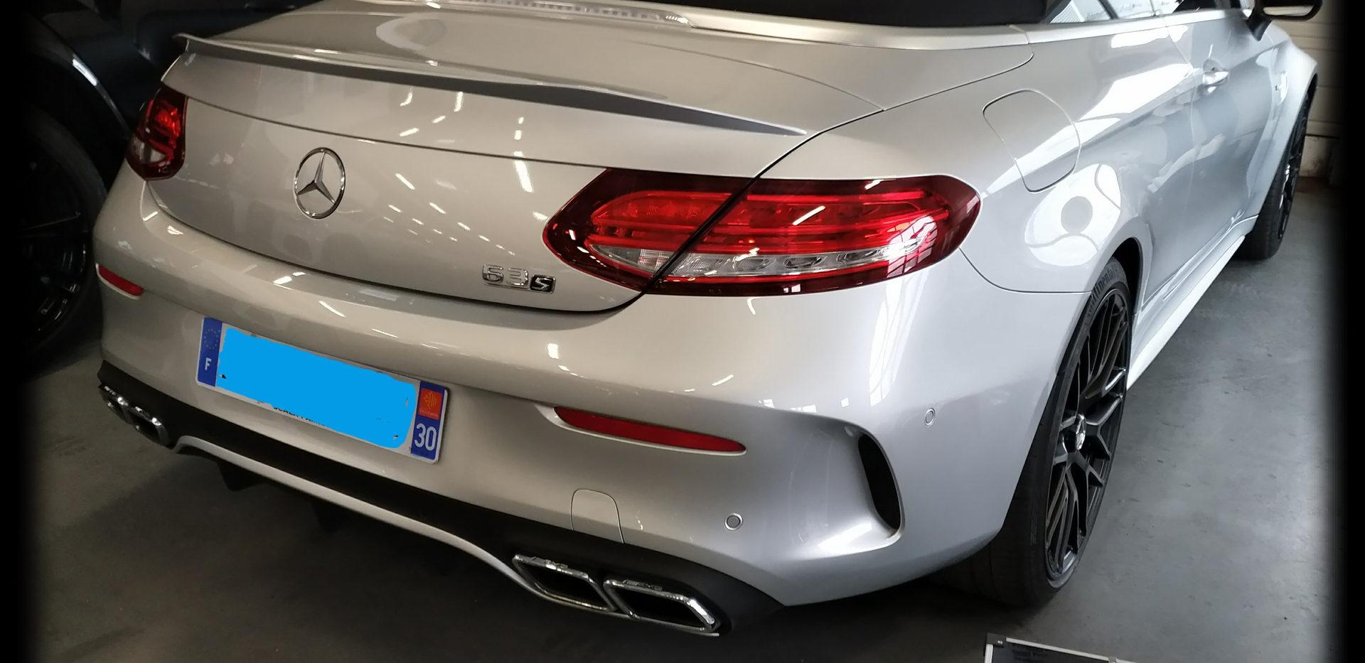 Mercedes classe c 63s