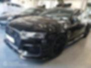 Vitres teintées par Celionett sur une Audi