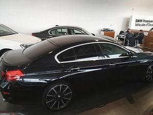 Vitres teintées par Celionett sur une BMW Serie 6 Grand Coupé