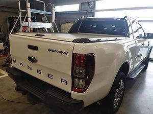 Vitres teintées par Celionett sur Ford Ranger