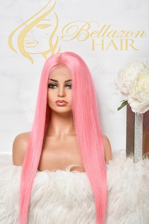 Pink Pop Wig