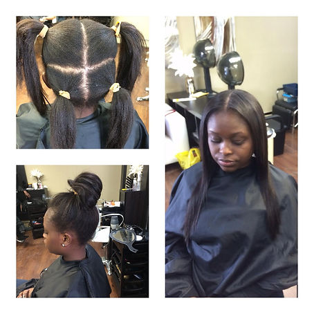 weaves with closure