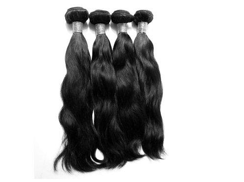 Platinum Virgin Hair 4-Bundle Deal