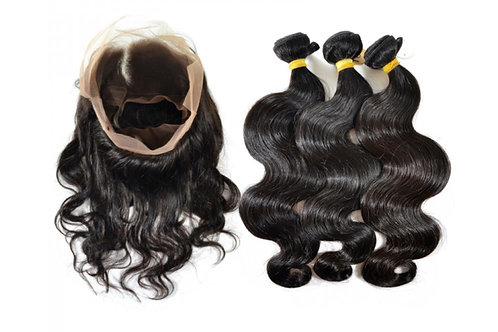 Gold 360 Frontals and Wefts – Bundle Deal