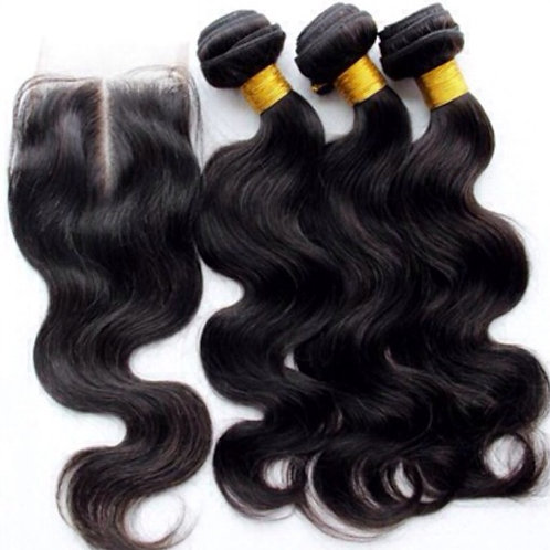 Gold Closure and Weft – Bundle Deal