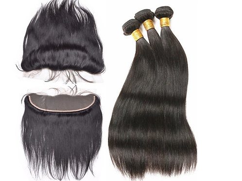 Gold Frontals and Wefts – Bundle Deal