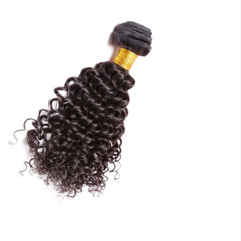 Gold Kinky Curl Weft