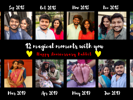 12 Chirpy Moments With You | Anniversary Post