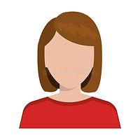 ícone-executivo-novo-do-perfil-da-mulher