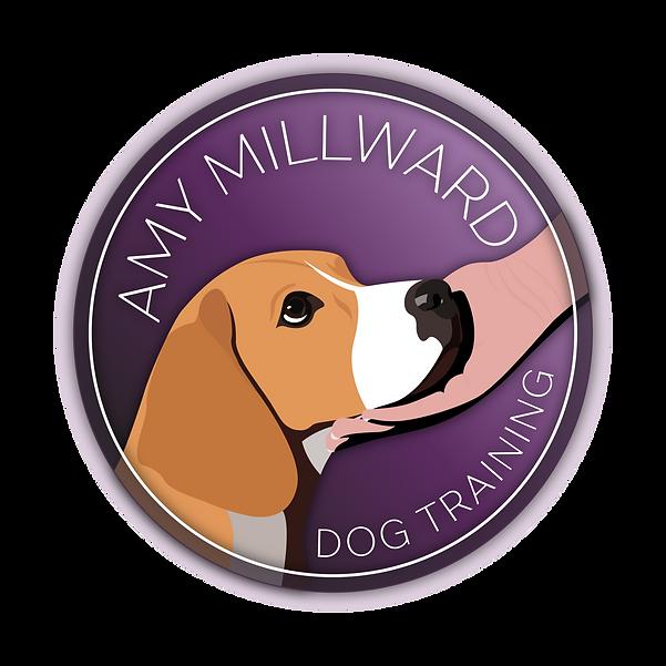 Amy Millward Dog Training Logo Purple PN