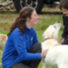 Amy Louise Millward, experienced dog trainer