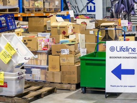Lifeline Bookfair Warehouse
