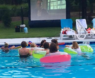 JAWS Movie Nite at the Pool 2017