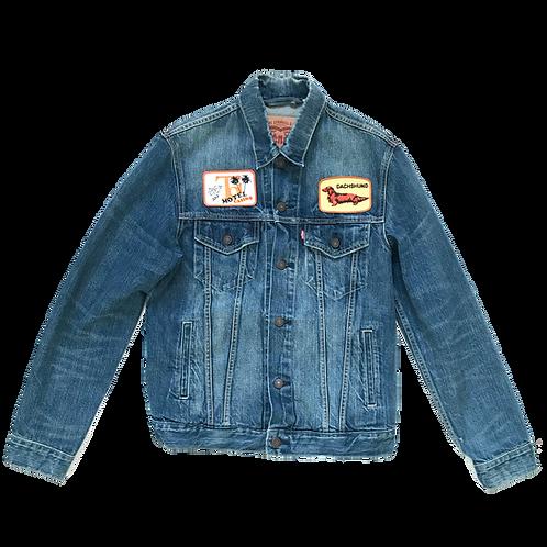 Dachshund Jeans Jacket