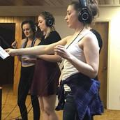 Vocal Sweetner recording