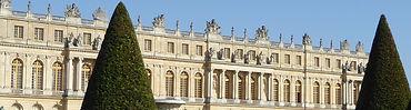 Château de Versailles vu du jardin - Jeu de piste Sagara