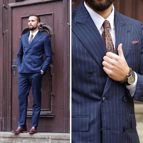 Blazer  Jacket Slim Fit Suit With Pants