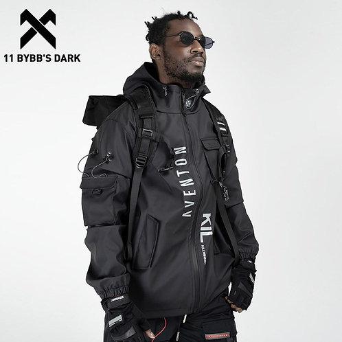 11 BYBB'S DARK Multi Pockets Cargo Jackets Men
