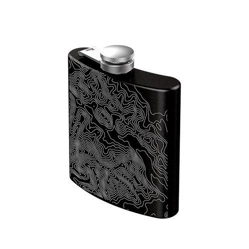 AllTrails Stainless Steel Engraved Flask