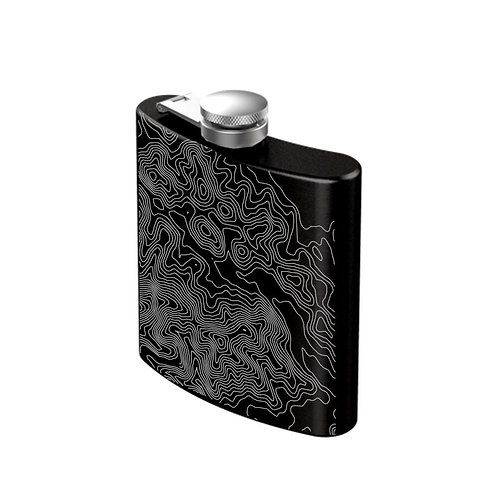 AllTrails Stainless Steel Engraved Flask